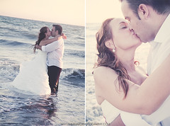 Eli & Cipri (Immaro Photography) Tags: summer love beach photoshop canon photography photo nikon kiss pareja pics amor union huelva playa pic photoaday summertime sesion beso postwedding picoftheday puntaumbra postboda immarophotography