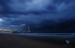 Pier Schevenigen, Netherlands (Yannick-R) Tags: beach netherlands night pier photo long exposure ngc nuit paysbas yannick schevenigen rivoire pierschevenigen