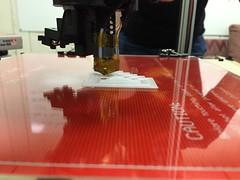 3D printing a calibration cube