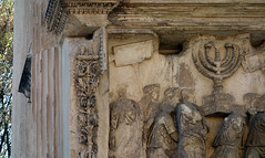 Arch of Titus (detail), 81 C.E.