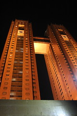 Koryo Hotel at Night (Ray Cunningham) Tags: north korea pyongyang dprk coreadelnorte