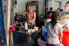 Tepi Sungai Kapuas DSCF7013 (franciscus nanang triana) Tags: trip travel people coffee shop river photo foto traditional activity orang pontianak triana sungai nanang franciscus kapuas warungkopi