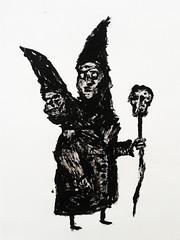 () Tags: black art alone drawing witch satanic daek