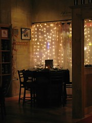 I liked this nook (debstromquist) Tags: friends illinois restaurants il westernsprings singersongwriter winestores canonpowershotsx110is clarencegoodman mécénatbistroandgatheringplace