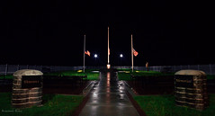 Sept 12 (rowe_rosemary) Tags: longexposure nightphotography night mississippi nightsky veteran veteransmemorial nikond3200 southmississippi d3200