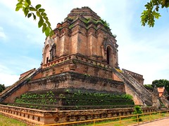 Wat Chedi Luang Temple (stardex) Tags: heritage thailand temple pagoda buddha culture chiangmai chediluang watchediluang stardex