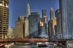 Chicago! (Ken Yuel Photography) Tags: chicago skyscrapers skylines chicagoriver mykindoftown windycity chicagoarchitecture dearbornbridge travelamerica chicagobridges chicagoicons kenyuel chicagoshots travelillinoise