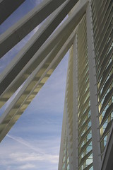 Converging Lines (jbart777) Tags: park abstract valencia architecture canon spain science 700d