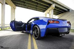 Hop in! (Nick Stephens Artwork) Tags: chevrolet stingray chevy corvette vette 2014 c7 lagunablue