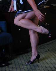 DSC_0336jj (ARDENT PHOTOGRAPHER) Tags: highheels muscular veins calves flexing veiny bodybuildingwoman