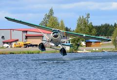 N108KS (John W Olafson) Tags: alaska takeoff seaplane floatplane lakehood dehavillanddhc2beaver n108ks