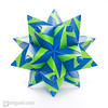 Nautica Kusudama (Maria Sinayskaya) Tags: 10010 15cmdoublesided 3dorigamistar daiyoshiko folded kamipaperduocolorcolor kusudama mariasinayskaya modularorigami origami origamipolyhedron origamispikes origamistar square мариясинайская