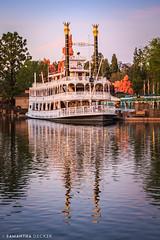 The Mark Twain (Samantha Decker) Tags: anaheim ca california canonef1635mmf28liiusm canoneos6d disneyland marktwain samanthadecker socal riverboat themepark