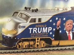 The Casey Jones presidency? (st_asaph) Tags: modelrailroad donaldtrump f7 emd