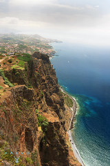 CABO GIRAO (XAEVO DELUXE) Tags: xaevodeluxe xaevo deluxe madeira island ocean atlantic cabogirao portugal cliff sea water summer azure view viewpoint holiday crux jasoncrux tour sun photo photography funchal landscape coast beach sand tropical