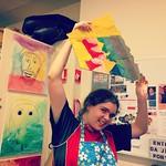 Art Lounge: Making fishtails!