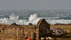 Winter Returns IMG_0819 (Ronnierob) Tags: stormyseas scatness shetlandisles