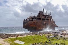 Lighthouse fail (p.niebergall) Tags: klein curacao schiffswrack shipwreck coast küste gestrandet stranded karibik caribbean insel island