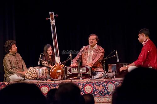 Pandit Ajoy Chakrabarty at Bhavan, London