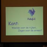 Kant: weelde voor de rijken, zegen voor de armen?