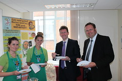 "Stephen Mosley MP and Justice Minister Jeremy Wright visit Aqua House Drug & Alcohol Service • <a style=""font-size:0.8em;"" href=""http://www.flickr.com/photos/51035458@N07/14326437389/"" target=""_blank"">View on Flickr</a>"