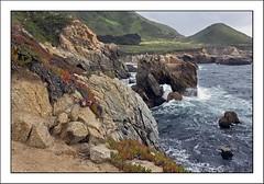 Garapata Arch Rock (Randall Beetle Photography) Tags: ocean california sea usa rock arch pacific wave stack carmel garrapata califrornia