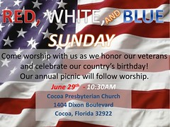 """Red White and Blue Sunday • <a style=""""font-size:0.8em;"""" href=""""http://www.flickr.com/photos/124796103@N07/14389647621/"""" target=""""_blank"""">View on Flickr</a>"""