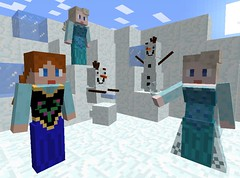 Anna, Elsa and Olaf (Evan (911Bug911)) Tags: anna olaf ana frozen is model mod very models reads nobody tags godzilla suggestions ever which elsa suggest franchise disappointing minecraft