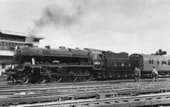 ROYAL SCOT 46154 1948 LOCOMOTIVE EXCHANGE (Xdriver2) Tags: 1948 waterloo british railways sr lms royalscot