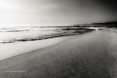dark sea (steff808) Tags: sea blackandwhite bw mer france blancoynegro beach mar seaside mediterranean mediterraneo