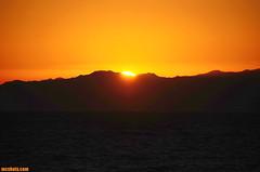SunOnTheMountain (mcshots) Tags: ocean california sunset sea sky usa mountains nature water evening bay coast view stock july socal summertime mcshots swells losangelescounty dockweilerstatebeach