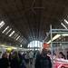 Market in a Zeppelin hangar