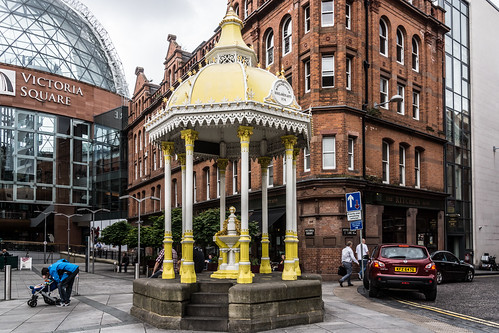 Jaffe Fountain - Victoria Square In Belfast