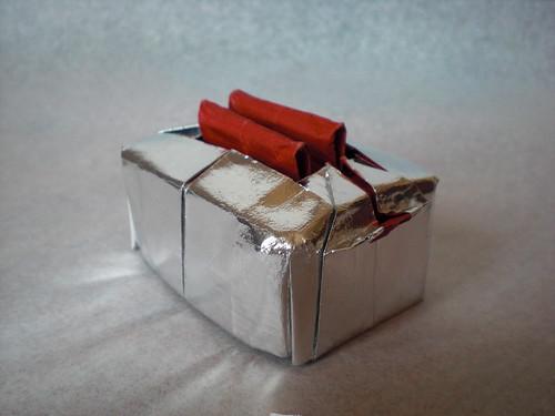 origami toaster papel papiroflexia tostadora electrodoméstico