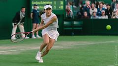 aoyama (ken_tsuda) Tags: green london grass nikon action tennis aomori tele wimbledon tennisplayer doubles japanes 2014 200mm shuko d700 kentsuda 20140629fwimbledonatennis3689