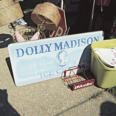 vintage Dolly Madison sign (holiday_jenny) Tags: sea summer beach vintage newjersey asburypark nj antiques flea jerseyshore fleamarket oceangrove njshore greatauditorium tenthouses
