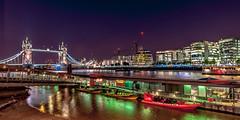 London at night (stephanrudolph) Tags: city uk bridge england urban london water night nikon europa europe wideangle gb d700 1424mm 1424mmf28g saariysqualitypictures