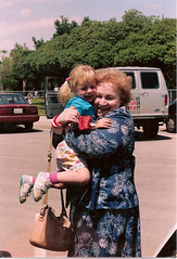 """Grandma Ruth giving one of her tight-tight hugs • <a style=""""font-size:0.8em;"""" href=""""http://www.flickr.com/photos/42153737@N06/14572769754/"""" target=""""_blank"""">View on Flickr</a>"""