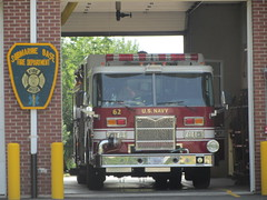 US Navy Sub Base Fire Truck (Zan's World) Tags: new london truck fire us sub navy ct federal base dept fd sbfd