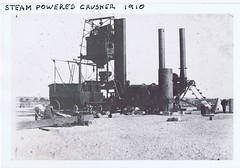 Steam powered crusher 1910? (Runabout63) Tags: elevator machinery burner bitumen tar roadbuilding