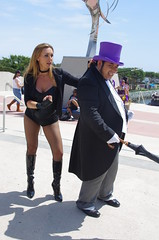 SDCC 2014 JPEG 2561 (Photography by J Krolak) Tags: ca penguin dc costume cosplay masquerade dccomics blackcanary oswaldchesterfieldcobblepot comiccon2014 sdcc2014 sandiegocomiccon2014