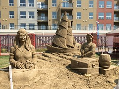 Sand On Whyte 2014 (raise my voice) Tags: old art sand strathcona avenue whyte