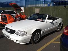 1996 Mercedes 320SL (mangopulp2008) Tags: new mercedes march 1996 9 meet gumball kreme malden krespy 320sl