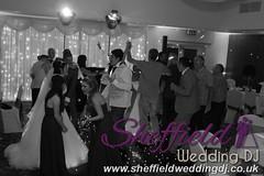 Andrew & Lauren McCambridge - Hellaby Hall - Black & White  Wedding Photos by Sheffield Wedding DJ 0008
