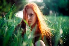 . (Sandy Phimester) Tags: leica summer portrait film girl analog ektar summarit