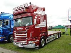 J K & M E Bound & Son Scania R560 Topline KB06 HAY (5asideHero) Tags: show k wales truck j all transport son m e hay bound scania 2014 topline r560 kb06