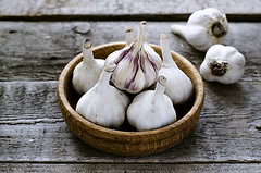 Organic garlic in a wooden bowl on the wooden table (gorobina) Tags: wood red food white green cooking nature kitchen closeup bulb dark pepper cuisine wooden leaf healthy raw natural eating background board spice rustic objects nobody vegetable fresh gourmet health meal vegetarian condiment garlic chop onion spicy organic diet parsley aromatic herb isolated seasoning freshness ripe aroma nutrition ingredient clove vitamin