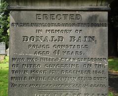 Town Moor Explosion 17th December 1867 (davewebster14) Tags: explosion tragedy bain newcastleupontyne townmoor nitroglycerine johnmawson