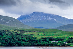 Letterfrack, Galway (janmennens) Tags: ireland cloud galway landscape hill lodge diamond ie laurel ierland letterfrack gallway selfcatering connemaraloop laurellodge