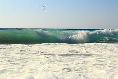 Fighting the waves (alexpapad) Tags: blue sea summer seascape water landscape island waves greece 2014 lefkada leukada τοπιο θαλασσα ελλαδα νησι απογευμα νερο λευκαδα κυματα επτανησα